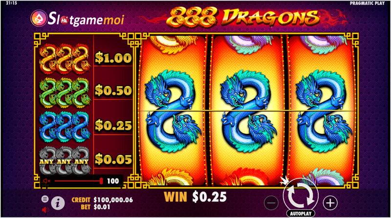 cách chơi slot 888 dragons