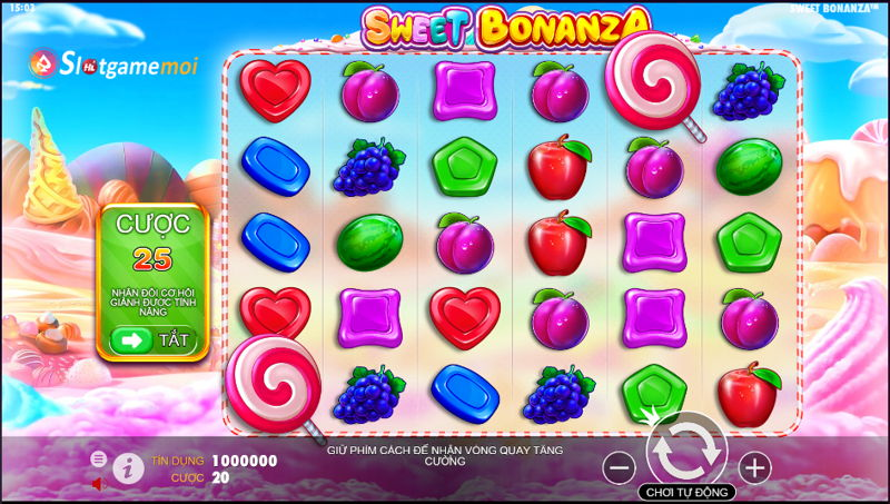 game nổ hũ sweet bonanza