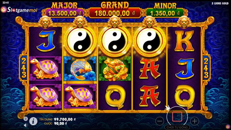 slot game 5 lions gold pragmatic play