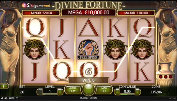 chơi slot divine fortune miễn phí