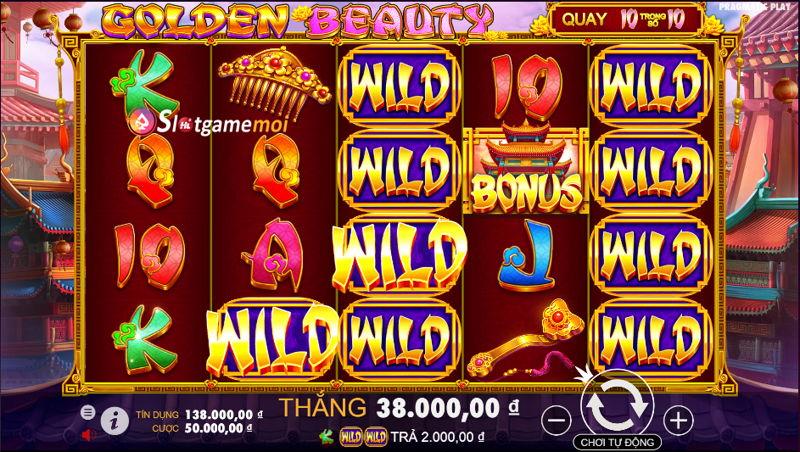 slot game sắc đẹp vàng