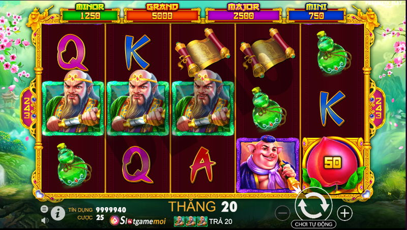 chơi slot game khỉ vàng 2020