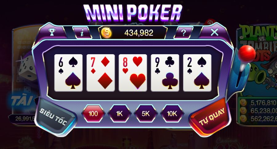 mini poker slot 789club