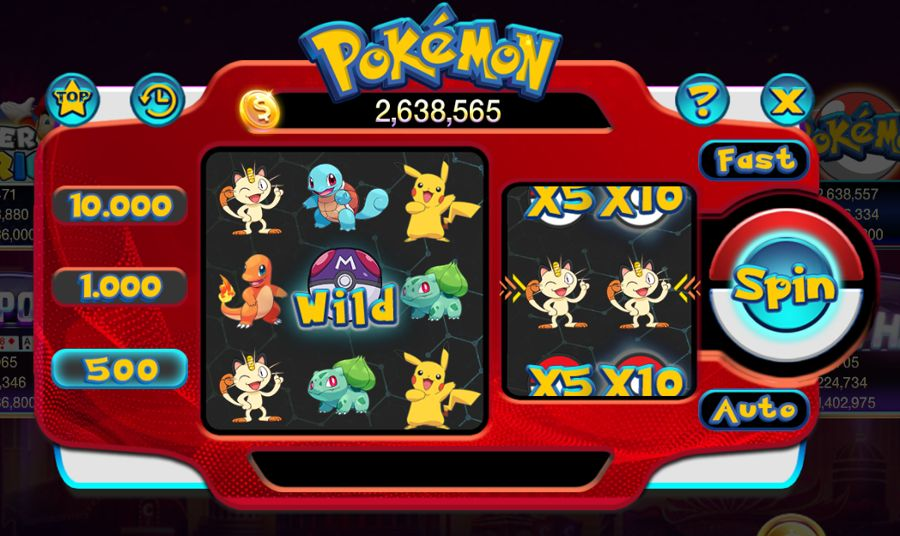 pokemon slot 789 club