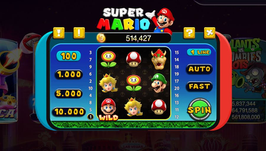 slot game mario 789 club