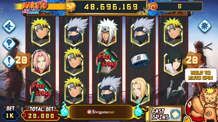 slot nổ hũ Naruto