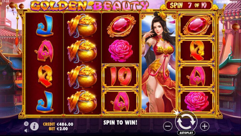 Golden-Beauty-Slot-Game