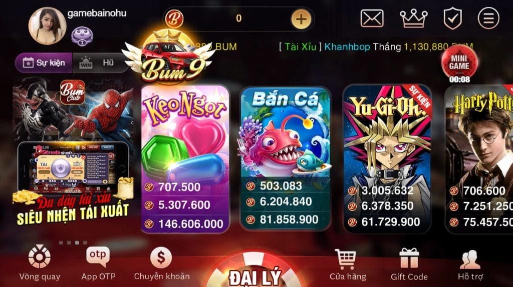 game no hu uy tin