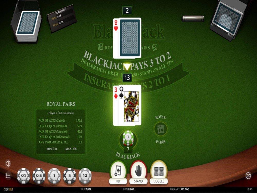 Blackjackroyalpairs