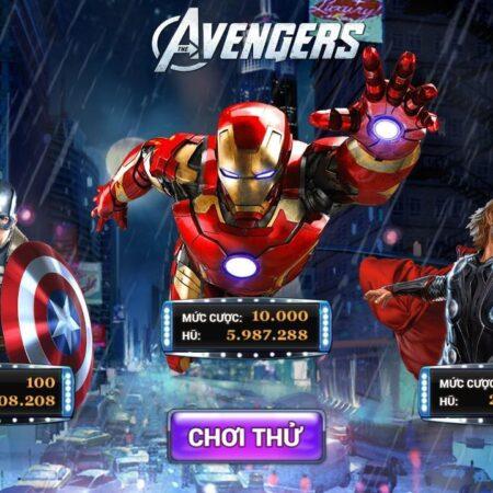 Game nổ hũ siêu anh hùng trúng lớn, ăn tiền thật