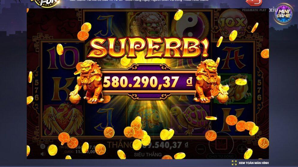 Slot game quay hũ hấp dẫn, xanh chín nhất