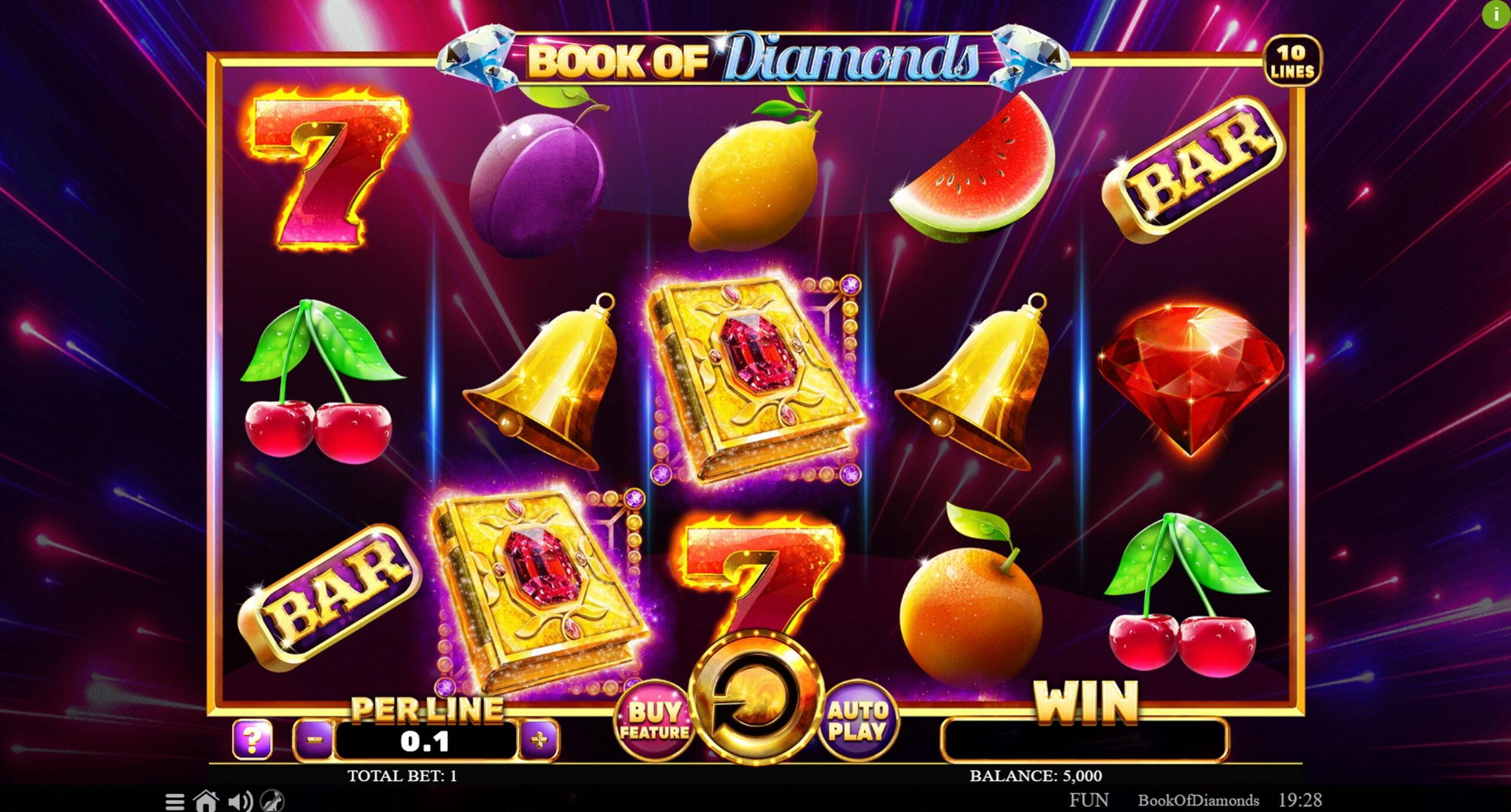 Game nổ hũ books of diamonds
