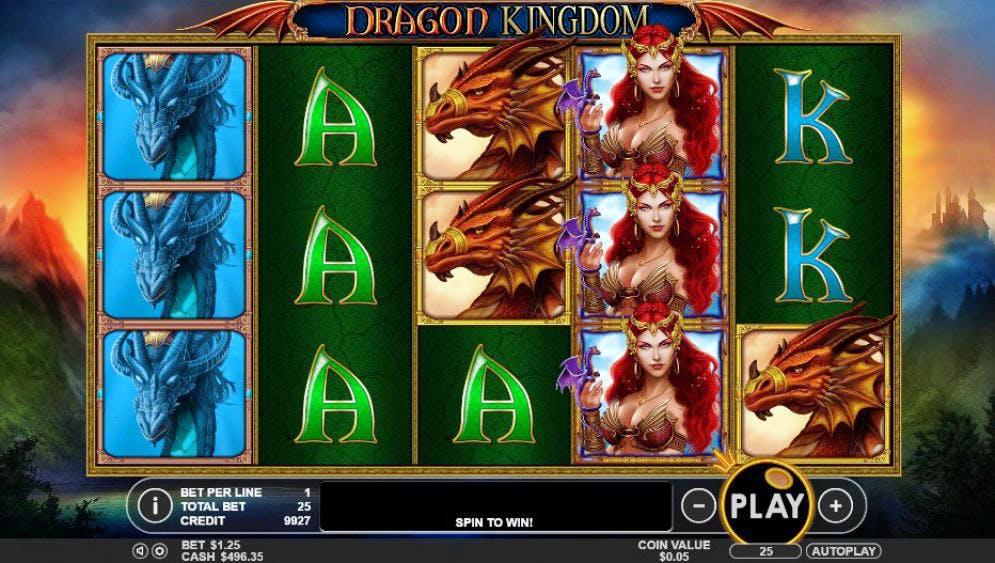 Game nổ hũ Dragon Kingdom