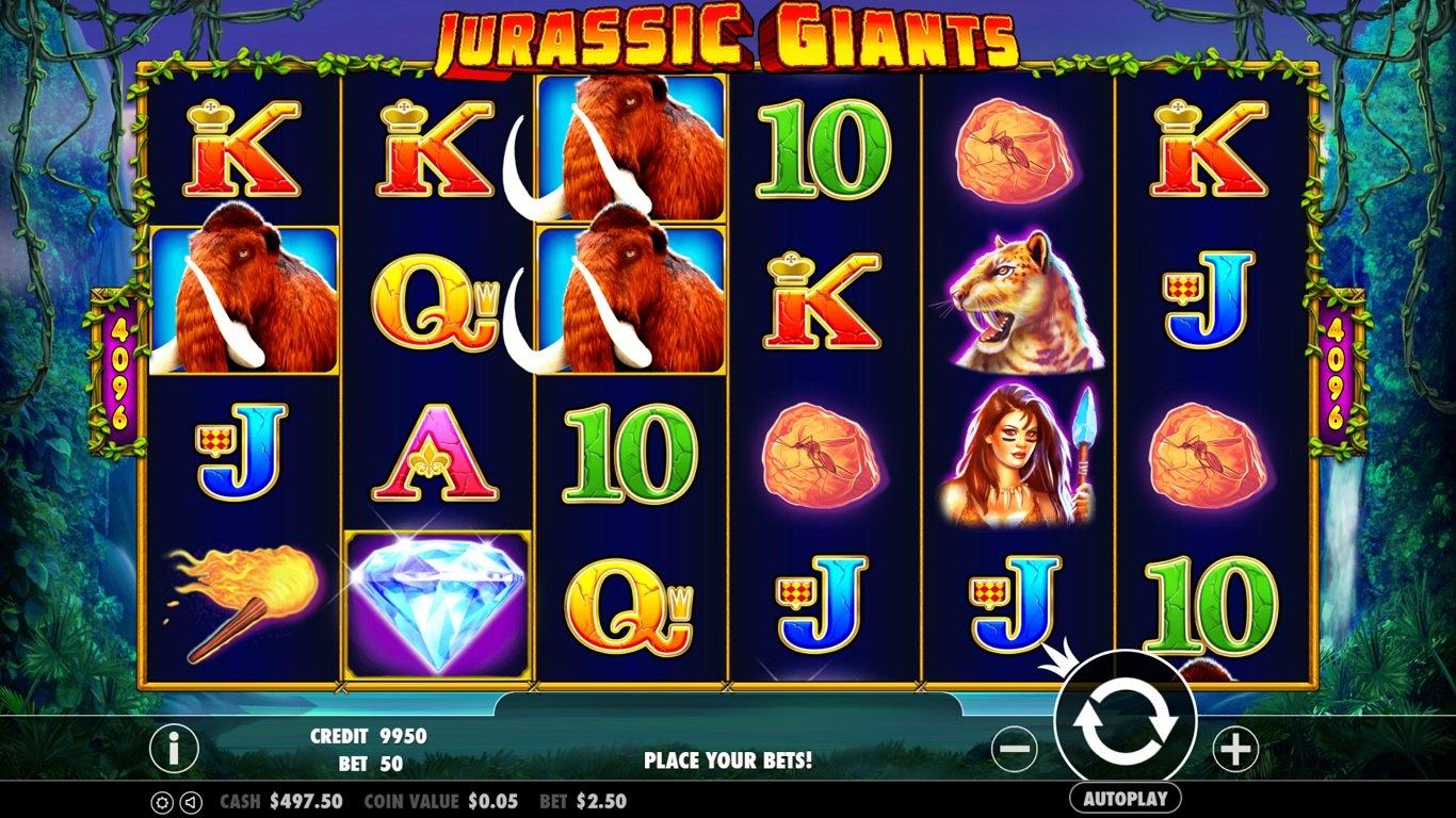 game quay hũ jurassic giants